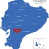 Map Ecuador Provinzen Canar_1_