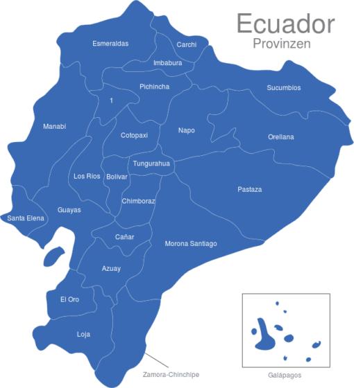 Ecuador Provinzen