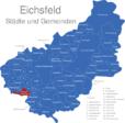 Map Eichsfeld Asbach-Sickenberg