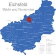 Map Eichsfeld Berlingerode