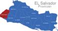 Map El Salvador Provinzen Ahuachapan_1_