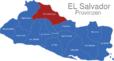 Map El Salvador Provinzen Chalatenango