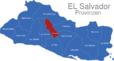 Map El Salvador Provinzen Cuscatlan_1_