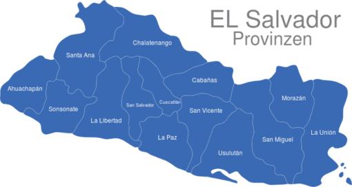 El Salvador Provinzen