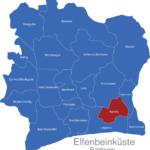 Map Elfenbeinkueste Regionen Agneby_1_
