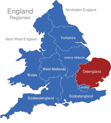 england karte regionen England Regionen interaktive Landkarte | Image maps.de england karte regionen