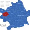 Map Erfurter Ortsteile Altstadt