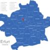 Map Erfurter Ortsteile Berliner_Platz