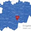 Map Erzgebirgskreis Annaberg-Buchholz