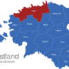 Map Estland Landkreise Harju