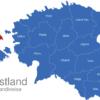 Map Estland Landkreise Hiiu