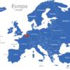 Map Europa Länder Belgien