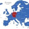 Map Europa Länder Deutschland