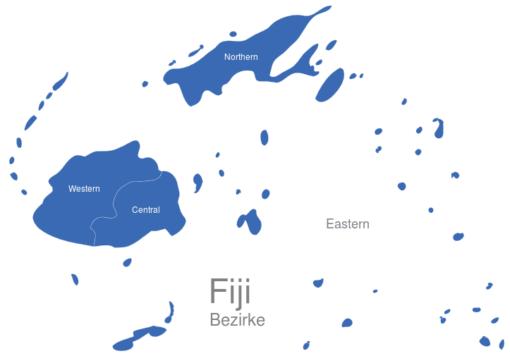 Fiji Bezirke