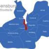 Map Flensburg Stadtteile Innenstadt
