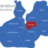 Map Flensburg Stadtteile Jürgensby