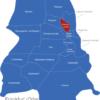 Map Frankfurt Oder Ortsteile Hansaviertel