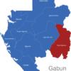 Map Gabun Provinzen Haut-Ogooue_1_