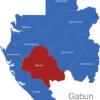 Map Gabun Provinzen Ngounie_1_