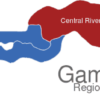 Map Gambia Regionen Central_River