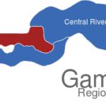 Map Gambia Regionen North_Bank