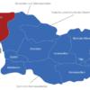 Map Georgien Regionen Abchasien