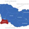 Map Georgien Regionen Adscharien