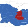 Map Georgien Regionen Innerkartlien