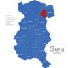 Map Gera Stadtteile Cretzschwitz