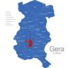 Map Gera Stadtteile Debschwitz