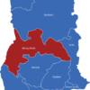 Map Ghana Regionen Brong-Ahafo
