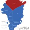 Map Grönland Gemeinden Avannaa