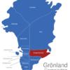 Map Grönland Gemeinden Illoqqortoormiut
