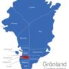 Map Grönland Gemeinden Kangaatsiaq