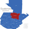 Map Guatemala Departments Alta_Verapaz