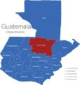 Map Guatemala Departments Alta_Verapaz