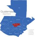 Map Guatemala Departments Baja_Verapaz
