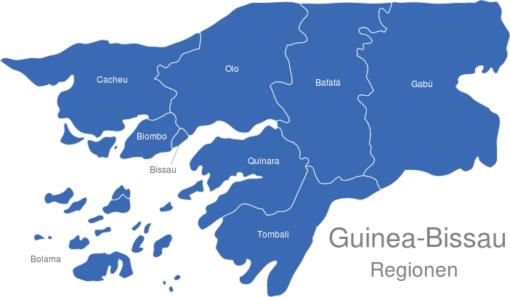 Guinea Bissau Regionen