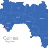 Map Guinea Regionen Conakry