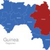 Map Guinea Regionen Kankan