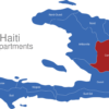 Map Haiti Departments Centre