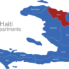 Map Haiti Departments Nord