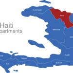 Map Haiti Departments Nord