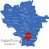 Map Halle Stadtteile Ammendorf_Beesen