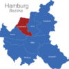Map Hamburg Bezirke Eimsbuettel_1_