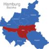 Map Hamburg Bezirke Mitte_1_