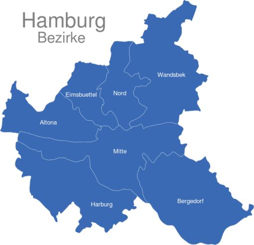 Hamburg Bezirke