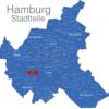 Map Hamburg Stadtteile Altenwerder