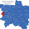 Map Hannover Stadtteile Ahlem