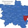 Map Hannover Stadtteile Anderten
